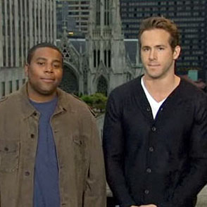 Ryan Reynolds  on Ryan En Snl